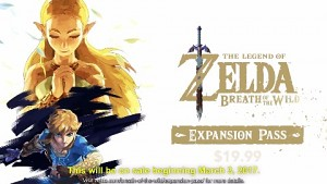 Nintendo kündigt Season Pass für Zelda an (Switch)