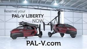 Flugauto PAL-V Liberty (Herstellervideo)