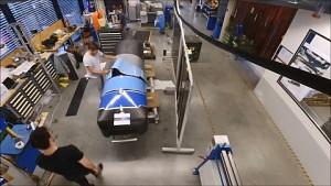 Bau der Hyperloop-Kapsel - Warr