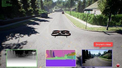 Microsoft Aerial Informatics and Robotics Platform - Demo
