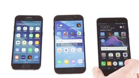 Galaxy A3, A5 und P8 Lite im Vergleich - Fazit
