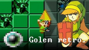 The Legend of Zelda (1986 und 1995) - Golem retro_
