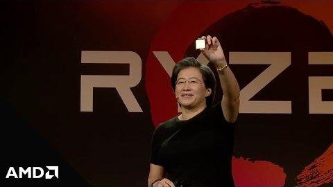 AMD stellt die Ryzen 7 vor