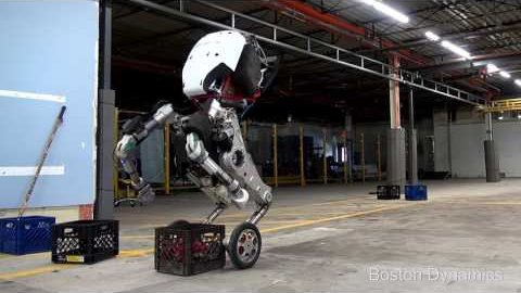 Rollender Roboter Handle - Boston Dynamics