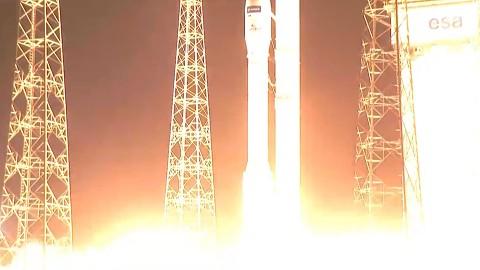 Eindrücke vom Start des Sentinel-2B