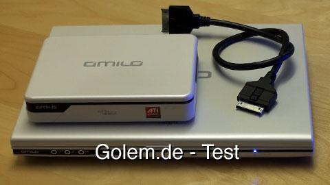 Amilo Graphic Booster - Test