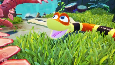 Snake Pass - Trailer (XB1, PS4, PC, Switch)