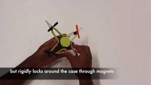 EPFL - verbiegbarer Quadcopter