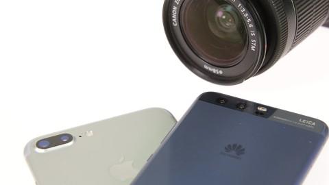 Porträtfunktionen (iPhone 7 Plus, Huawei P10) - Vergleich