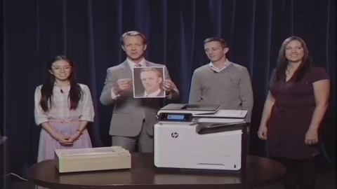 Computer Show Parodie HP Pagewide (Herstellervideo)
