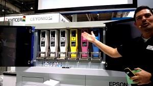 Epson Paperlab A-8000 angesehen (Cebit 2017)