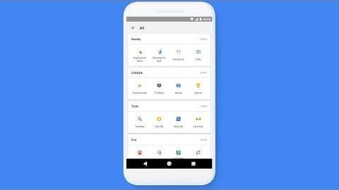 Shortcuts in Google-App - Demo