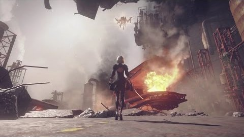 Nier Automata - Trailer (Launch)