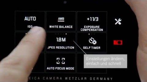 Leica-Bedienung (Herstellervideo)