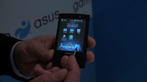 Garmin-Asus M20 - Impressionen vom Mobile World Congress 2009