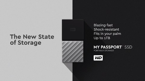 WD Passport SSD - Produkt-Teaser