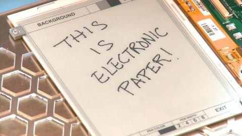 Wie E Ink funktioniert - Erklärung (englisch)