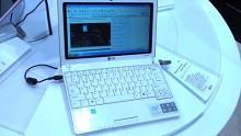 LG X120 - Impressionen vom Mobile World Congress 2009