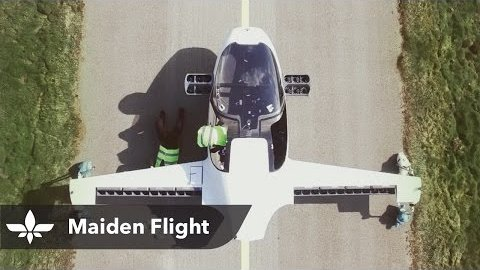Jungfernflug Lilium (Herstellervideo)
