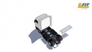 Elektrosattelschlepper für Pendeltransporte - E-Jit