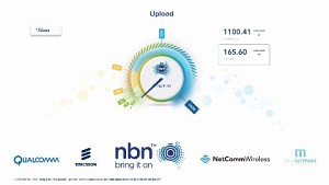 nbn hits record speeds in Fixed Wireless (Herstellervideo)