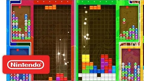 Puyo Puyo Tetris - Trailer (Nintendo Switch)