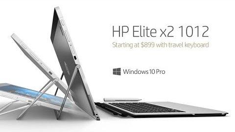 HP Elite x2 - Herstellervideo