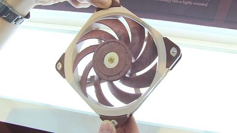 Noctua-120-mm-Lüfter (Computex 2017)