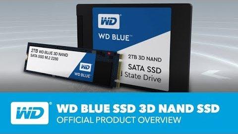 WD zeigt die Blue-3D-SSD
