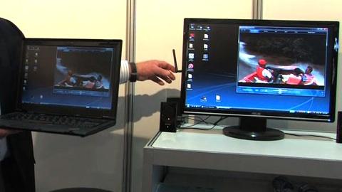 Cebit 2009 - Präsentation von Wireless USB