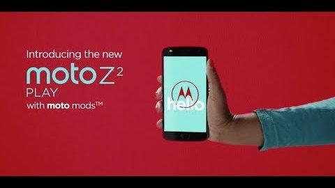 Lenovo Moto Z2 Play und neue Moto Mods - Trailer