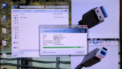 Cebit 2009 - Präsentation von SuperSpeed USB 3.0