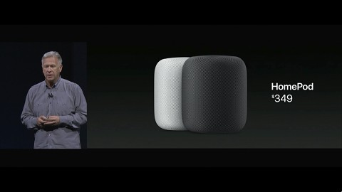 Apple stellt Homepod vor (WWDC17)