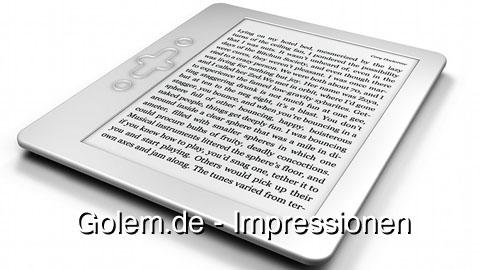 txtr E-Book-Reader - Vorschau - Impressionen