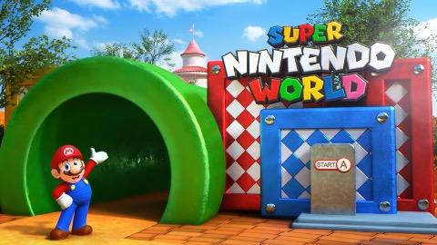 Super Nintendo World (Vergnügungspark) - Teaser