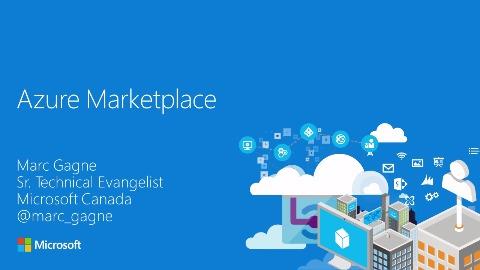 Microsoft Azure Marketplace - Erklärung