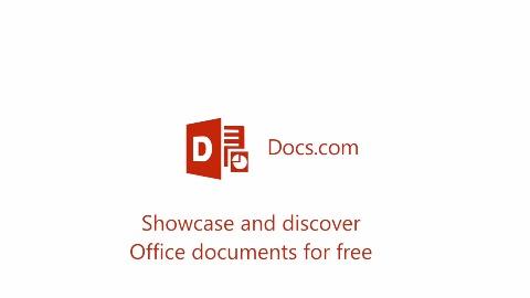 Docs.com for Education - Trailer