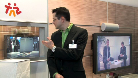 Cebit 2009 - Fraunhofer AAC-ELD in Aktion