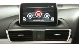 Mazda Connect Infotainment-System (Herstellervideo)