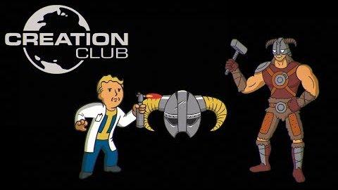 Bethesda Creation Club - Trailer (Ankündigung E3 2017)