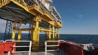 Bau des Unterwasserkabels Ostwind 1 - 50Hertz
