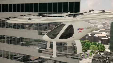 E-Volo Volocopter X2 (Herstellervideo)