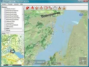 OpenStreetMap - Geländedaten in 3D