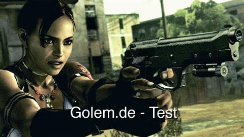 Resident Evil 5 - Test