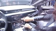 Audis neues MMI im A8 angeschaut