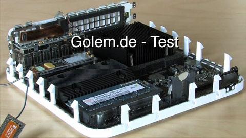 Mac mini mit Dualdisplay und Geforce-Grafik - Test