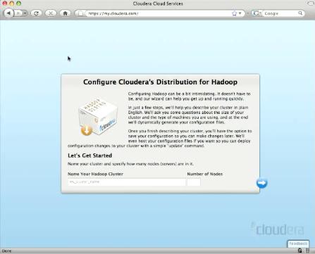 Cloudera - Automatische Konfiguration für Hadoop