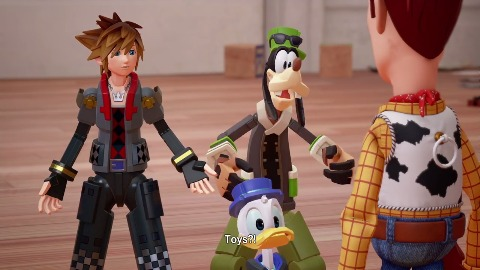 Kingdom Hearts 3 - Trailer (Toy Story, Gameplay)