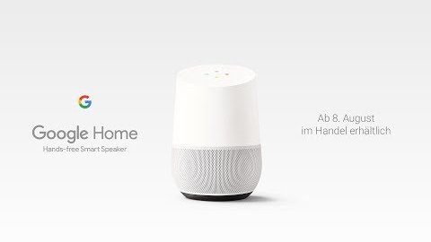 Google Home auf Deutsch - Trailer