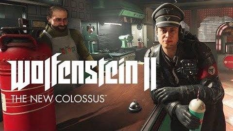 Wolfenstein 2 - Trailer (Erdbeermilch)